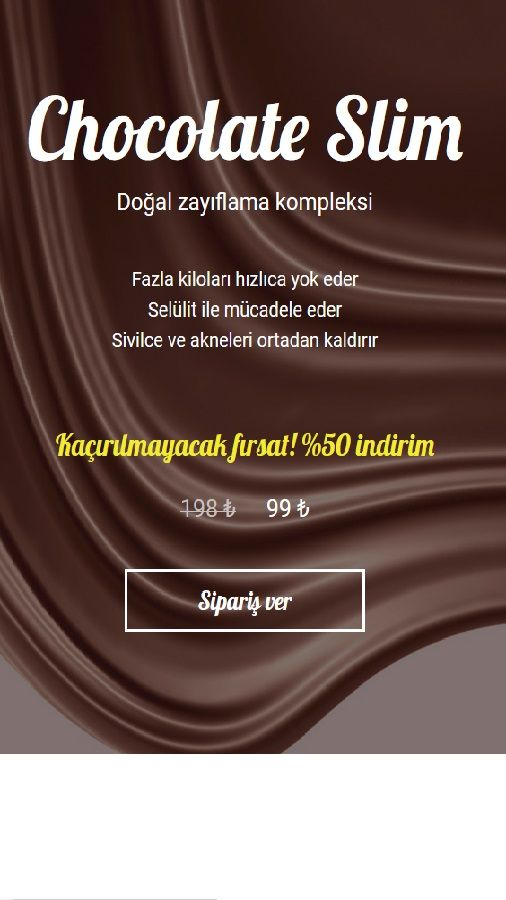 Weight Loss - TR - 3G + Wifi - Chocolate Slim