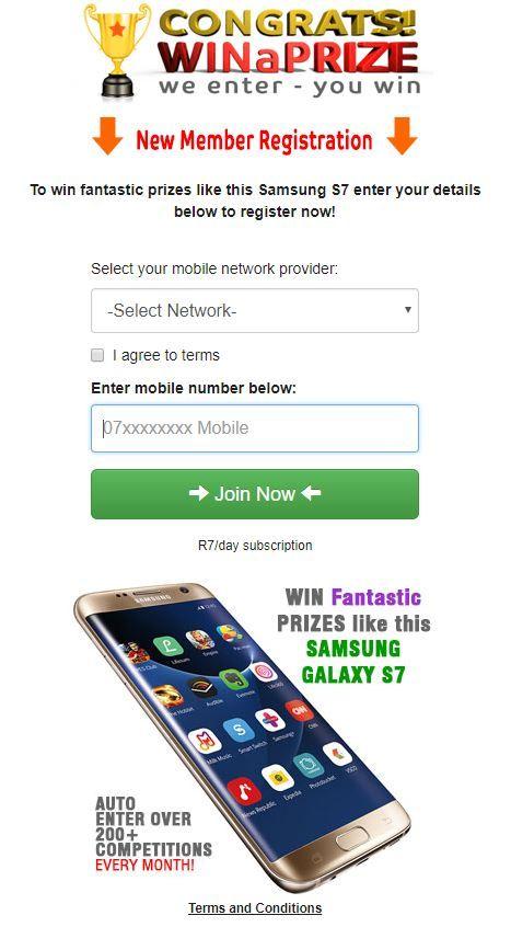 Win iPhone7  - Sweepstakes