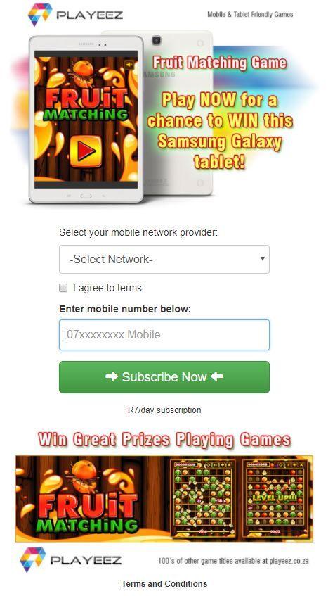 Games - ZA - 3G - Playeez